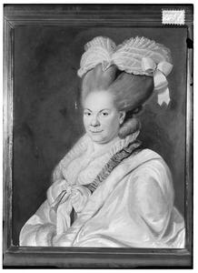 Portret van Sibille Marie de Thoms (1742-1814)