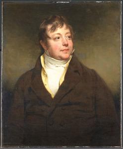 Portret van een man, mogelijk Joannes Bernardus Westerwoudt (1780-1841)