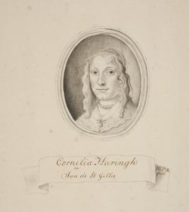 Portret van Cornelia Haringh (....-....)