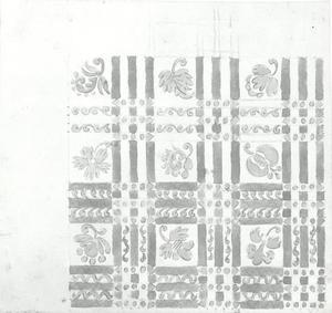 Ornament-ontwerp van gebladerte