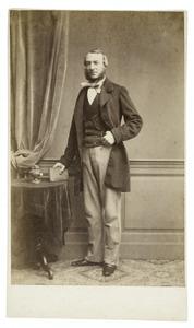Portret van Leonardus Hermannus Verwey (1817-1875)