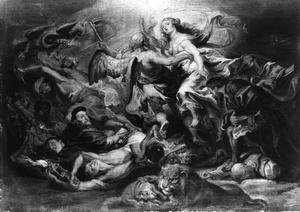 De overwinning van de eucharistie over de ketterij