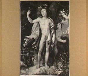 Bacchus en sater