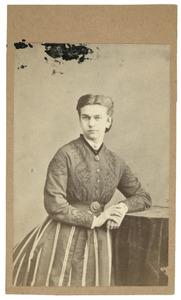 Portret van Paulina Carolina Hoynck van Papendrecht (1847-1894)