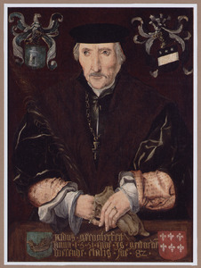Portret van Jacob Adriaensz. Domburgh, overleden 1553