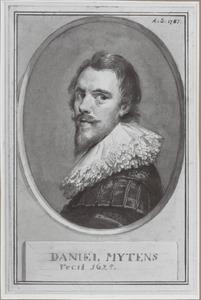 Portret van Danièl Mijtens I (....-....)