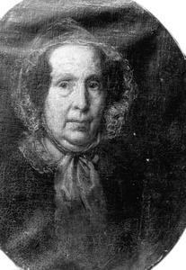 Portret van de moeder van J.H. Egenberger
