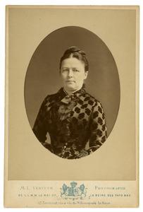Portret van Afina Cornelia Heijning (1840-1892)
