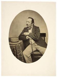 Portret van Johan Joseph Hoffmann (1805-1878)