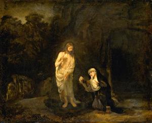 Christus verschijnt voor Maria Magdalena