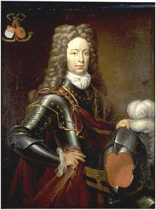 Portret van Unico Michiel Heroghe van Feringa (1676-1735), echtgenoot van Maria Helena Eenens