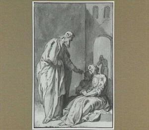H. Johannes van Diolcus geneest twee vrouwen