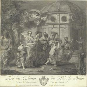 Mercurius wordt verliefd op Herse (Metamorfosen 2: 710-731)