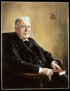 Portret van Gellius Franciscus Maria Pathuis Cremers (1855-1949)