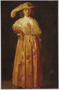 Een jonge vrouw