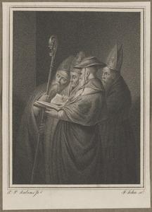 De vier kerkvaders van het Westen