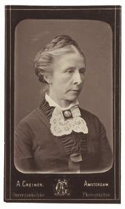 Portret van Johanna Engelberta van Breugel (1830-1901)