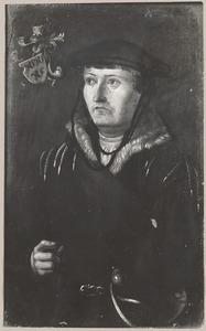 Portret van Pauwels Jansz. Hallincq (1505-1578)