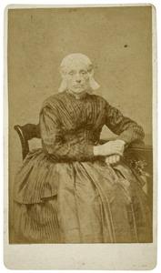 Portret van Theodora Johanna Elisabeth Odolphi (1800-1891)