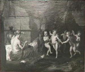 Dansende kinderen op de tonen van een triangel