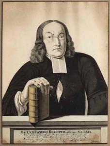 Portret van Jacobus Buschman (1704-1773)