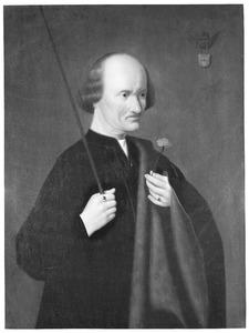 Portret van Arent Franckensz. van der Meer ( -1503), bijgenaamd 'quaet Aertje'