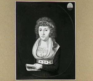 Portret van Theodora Bisdom (1768-1798), echtgenote van