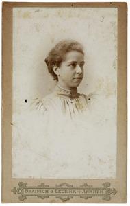 Portret van Roline Jeannette Bouricius (1874-1953)