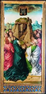 Passieretabel van Pruszcz Gdański (Praust): de hemelvaart van Christus