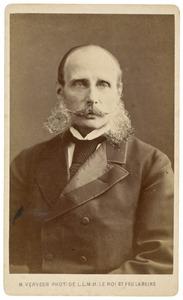 Portret van Hendrik van Oranje- Nassau (1820-1879)