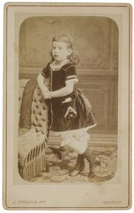 Portret van Elize Christine van der Haer (1873- )