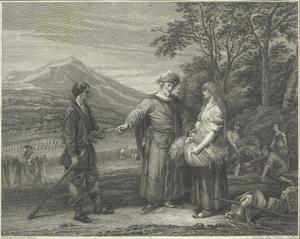 Boaz beveelt zijn dienaar Ruth zelfs tussen de schoven de aren te laten lezen (Ruth 2:5-8)