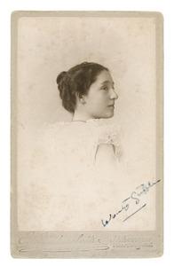 Portret van Woudrica Johanna Maria Gülcher (1881-1956)