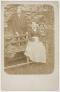 Carl Johan Ludwig Christian Fiedler en zijn tweede vrouw Hedwig Franziska Gallus, de ouders van Herbert Fiedler