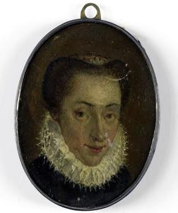 Portret van een vrouw, mogelijk Mary Stuart, koningin van Schotland (1542-1587)