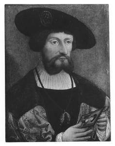 Portret van Christiaan II van Denemarken (1481-1559)