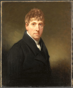 Zelfportret van Charles Howard Hodges (1764-1837)