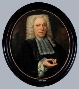 Portret van Johan Hora (1683-1744)