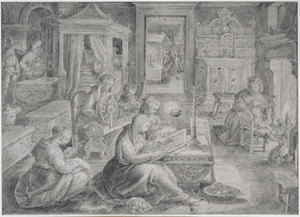 Cornelia de deugdzame moeder vande Gracchi
