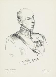 Portret van Willem Frederik Allard Hackstroh