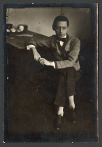 Portret van Raoul Hynckes