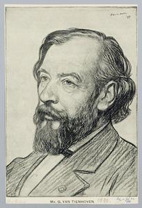 Portret van mr. G. van Tienhoven