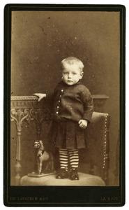 Portret van W.F. van der Meer (1882-1885)