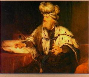 Portret van koning David