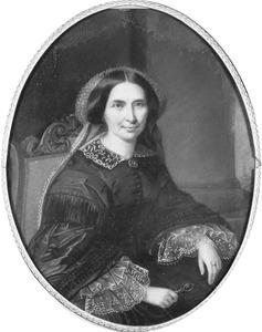 Portret van Cecilia Johanna van Scheltinga (1801-1863)