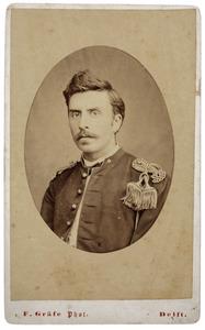 Portret van een man, mogelijk François Guillaume Pichot Lespinasse (1851-1875)