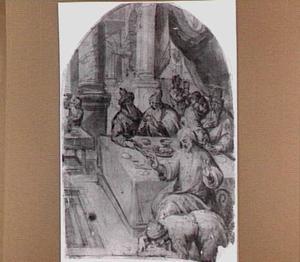 Christus in het huis van Simon de Farizëer