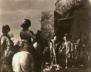De twist van Ajax en Odysseus over de wapenrusting van Achilles