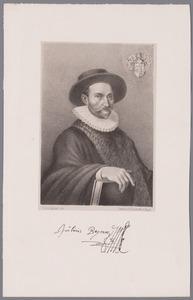 Portret van Julius van Beyma (1539-1598)