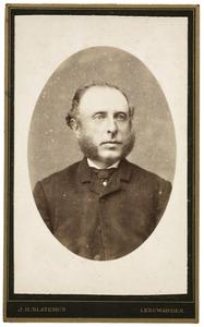 Portret van Klaas Gjalts van der Hem (1850-1899)